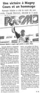 Une victoire à Magny Cours